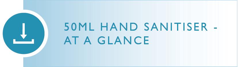 Wellbeing Brands Hand Sanitiser At A Glance