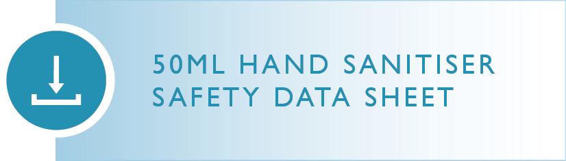 Wellbeing Brand Hand Sanitiser Safety Data Sheet
